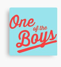 One of the Boys Canvas Print