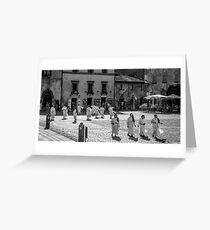 The Nuns of Orvieto, Italy Greeting Card
