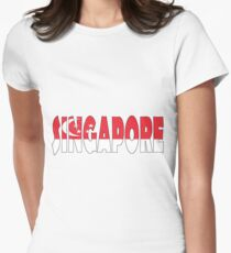 Singapore Womens Fitted T-Shirt