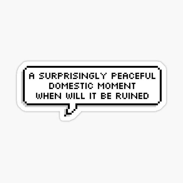 "OWL HOUSE Eda ""Domestic Moment""  Sticker"