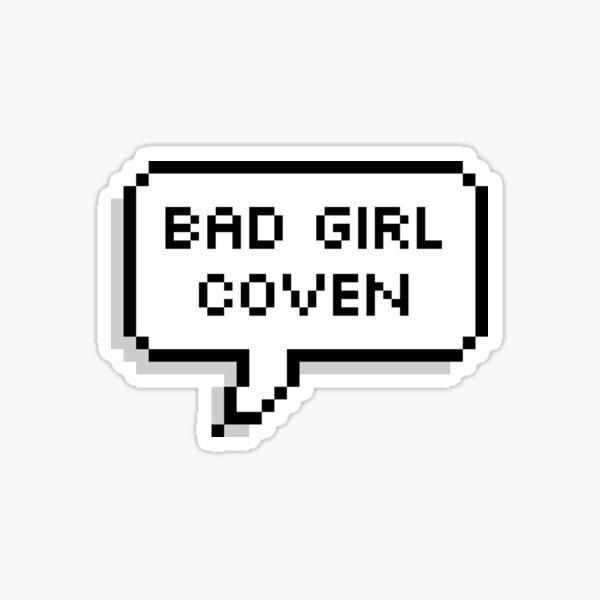 "OWL HOUSE Eda ""Bad Girl Coven""  Sticker"