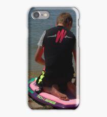 KNEE BOARDING3 iPhone Case/Skin