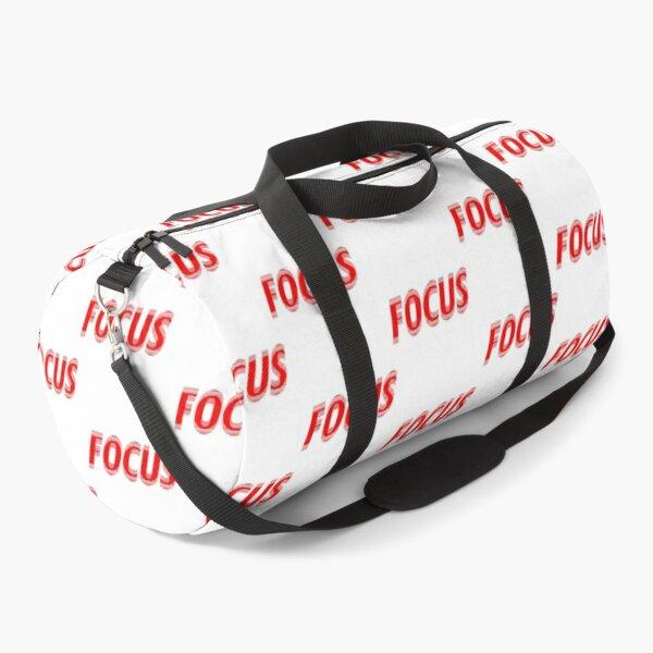 Just focus Duffle Bag