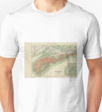 Vintage Geological Map of Nova Scotia (1906) T-Shirt
