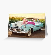 Back to the 50's Greeting Card