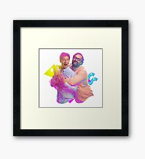 tim and eric awesome show (fixed/better) Framed Print