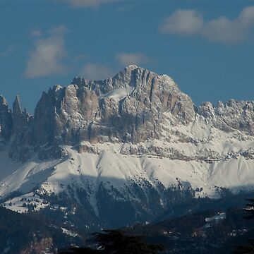 Snow on the Dolomites, Bolzano/Bozen, Italy by leemcintyre