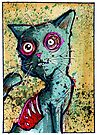Petey the Zombie Cat by byronrempel