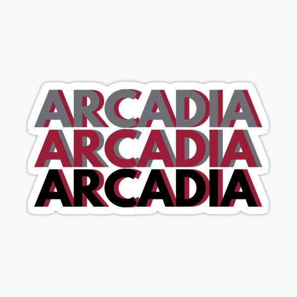 Triple ARCADIA Sticker