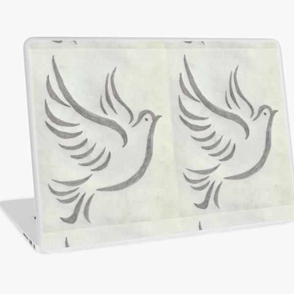 Peace Dove Laptop Skin