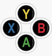 Xbox One Buttons - Minimalist Sticker