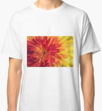 orange-red flower Classic T-Shirt