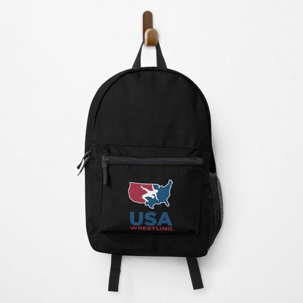 Brilliant No 1 USA Wrestling Design Backpack