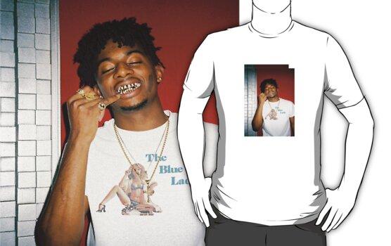 Mens White V Neck Long Sleeve T Shirt