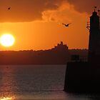 Sunrise at Newlyn by Sue Purveur