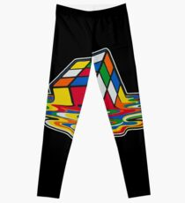 Rubik's Cube Leggings