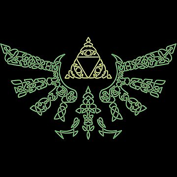 The legend of zelda Triforce by Hoppe12