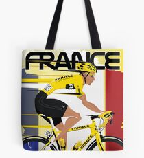 Tour De France Tote Bag