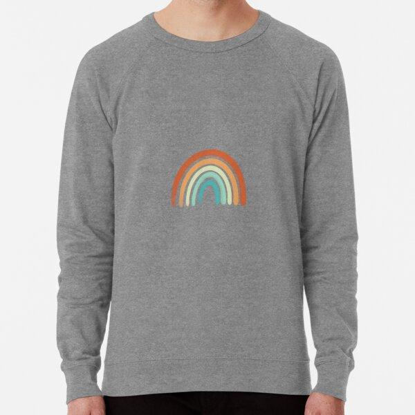 Aesthetic Rainbow Lightweight Sweatshirt