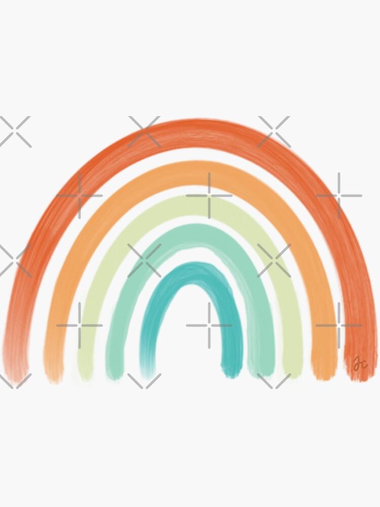 Aesthetic Rainbow by Jeandabean
