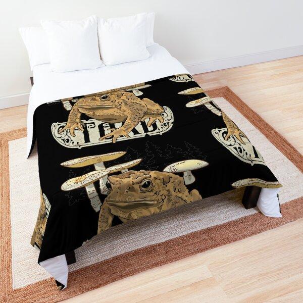 Toad Frog  Comforter
