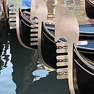 Gondolas by Elena Skvortsova