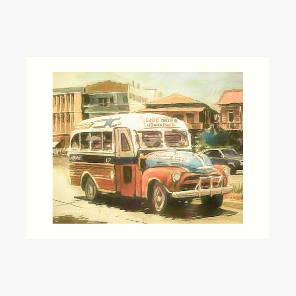 Panama 1954 Art Print