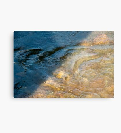 Sun and Shadow, Talvera River, Bolzano/Bozen, Italy Metal Print