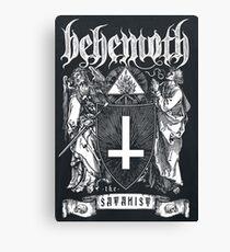 Satanic Band Canvas Print