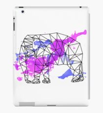 Water Colour Elephant iPad Case/Skin