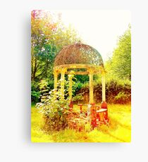 Old Fashioned Gazebo- Unique Photography  Canvas Print