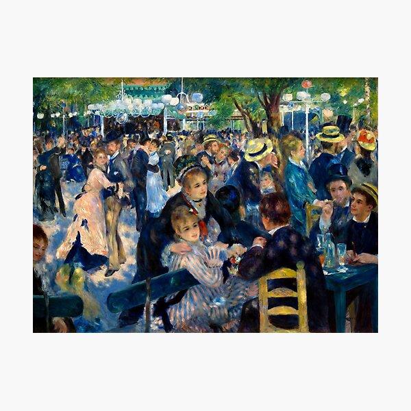 Renoir Dance at le Moulin de la Galette Photographic Print