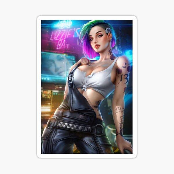 cyberpunk 2077 Art Sticker