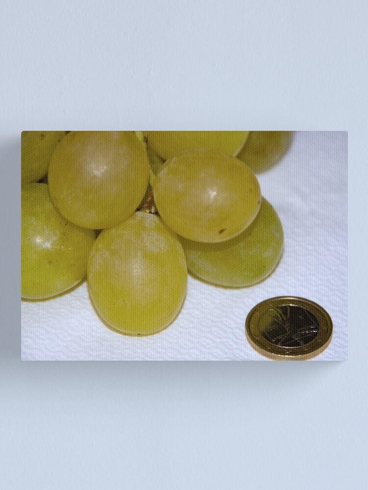 Alternate view of Monster Moscato grapes, Bolzano/Bozen, Italy Canvas Print