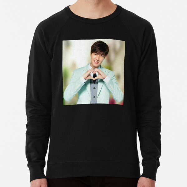 Lee Min Ho Collage - Cancer zodiac Lightweight Sweatshirt