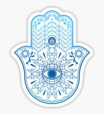 Hamsa. Hand of Fatima. Sticker