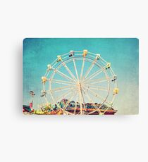 Boardwalk Ferris Wheel Canvas Print