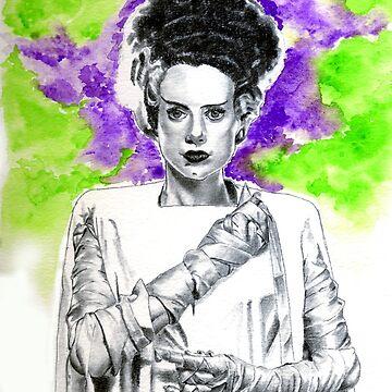 The Bride by kreepykustomz