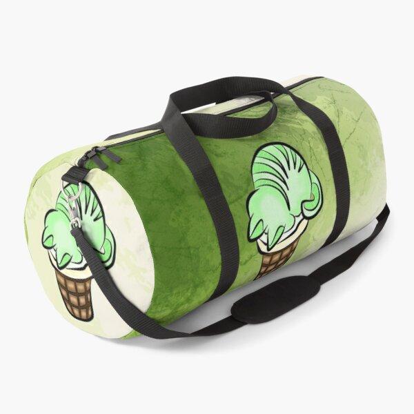 Elder Mint Cat Ice Cream Duffle Bag