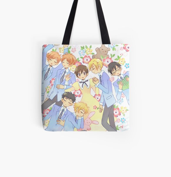 Ouran High School Host Club - ZZz... All Over Print Tote Bag