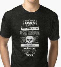 Dont mess with Urban Explorers Tri-blend T-Shirt