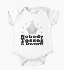 Nobody Tosses a Dwarf! Kids Clothes