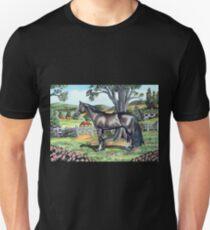 Dark Bay Thoroughbred...(on craft foam) T-Shirt