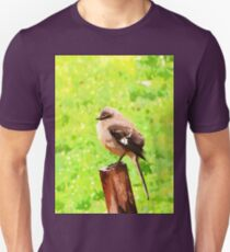 The Bird Painting  T-Shirt
