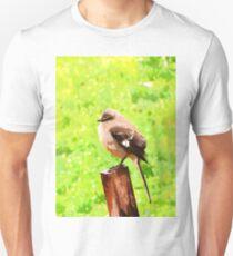 The Bird Painting  Unisex T-Shirt