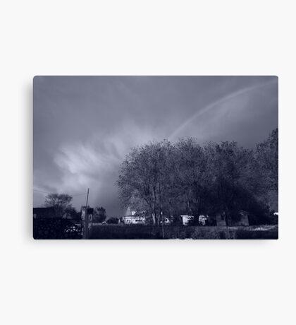 Chrome Rainbow Canvas Print
