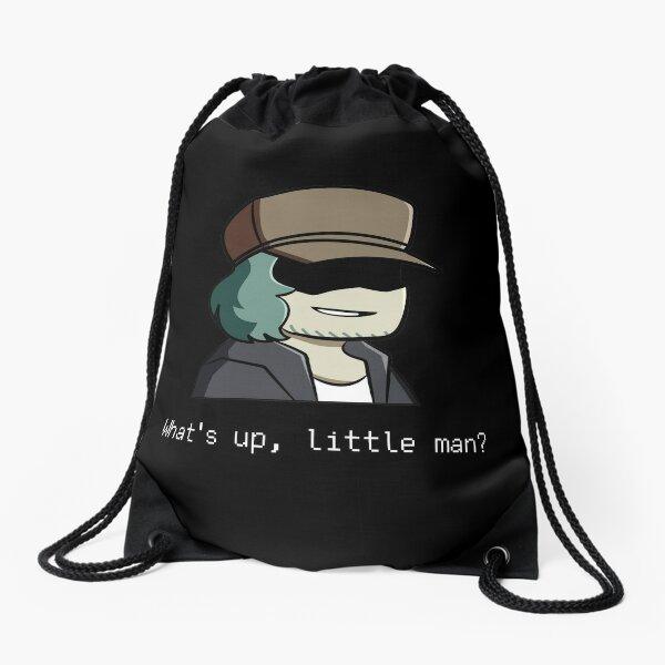 Friday night funkin garcello funny classic t-shirt - Whats up, little man Drawstring Bag