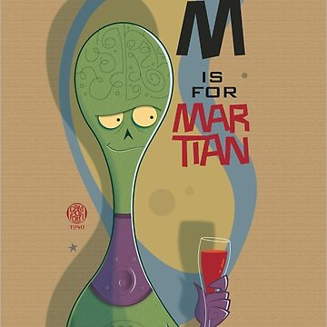 M is for Martian by campo1940