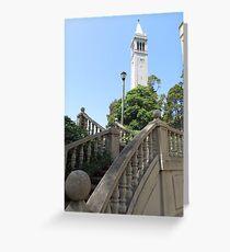 Sather Tower, Berkeley Greeting Card