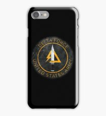 Delta Force Vintage Insignia iPhone Case/Skin